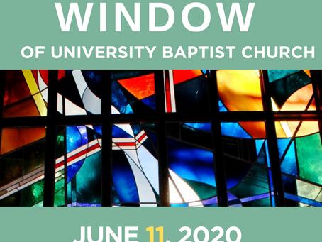 The Window: June 11, 2020