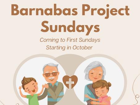 Barnabas Project Sundays