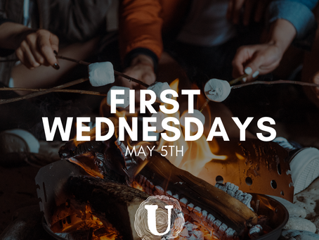 First Wednesdays on May 5th