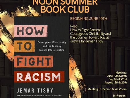 Noon Summer Book Club Begins June 10th