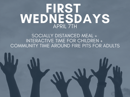First Wednesdays on April 7th