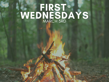 First Wednesdays: March 3rd
