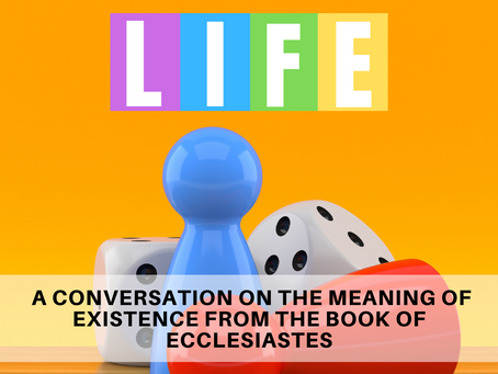 LIFE, a New Sermon Series Starting August 22