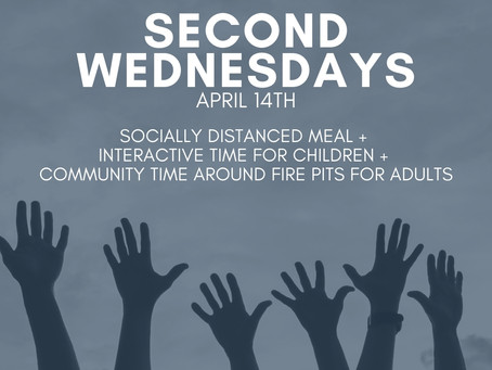 Second Wednesdays on April 14th
