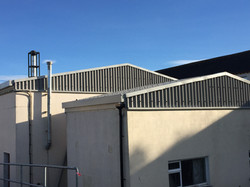 Tegral Wall and Roof Cladding + Metal Gutters