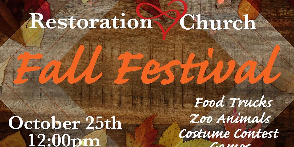 Restoration Fall Festival 2020