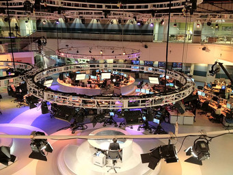 Newsroom Configuration: Al Jazeera English