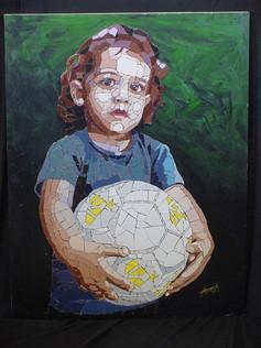 A menina e a Bola