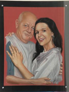 Ruben Salfer e esposa