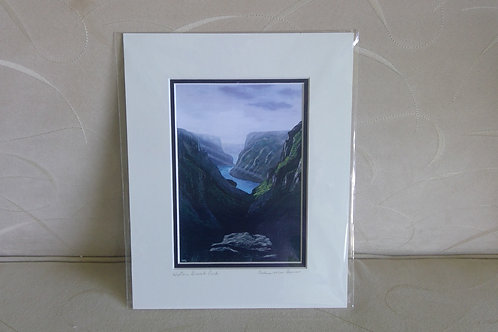Western Brook Pond, Print.