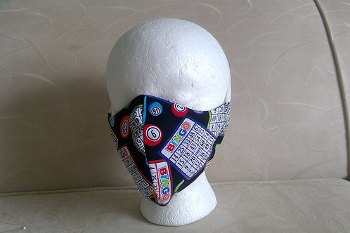 """Bingo"" Cotton Face Mask"