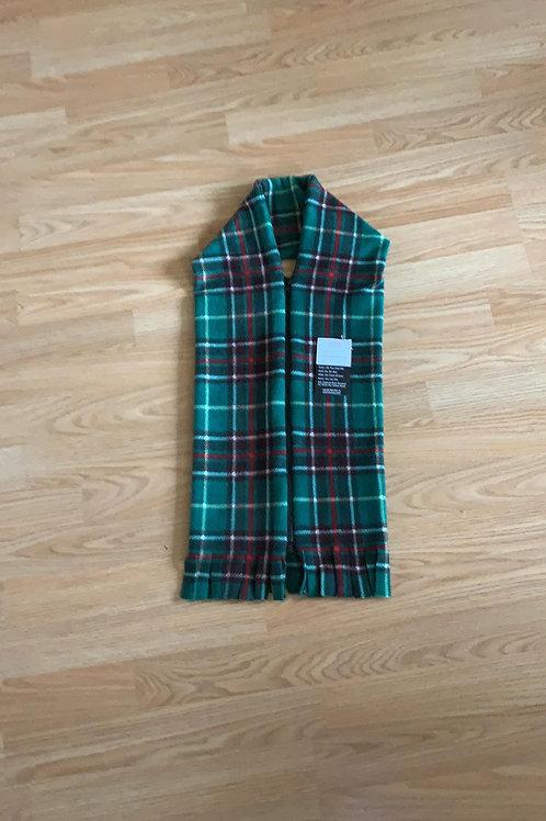 Newfoundland Tartan Fleece Zipper scarf