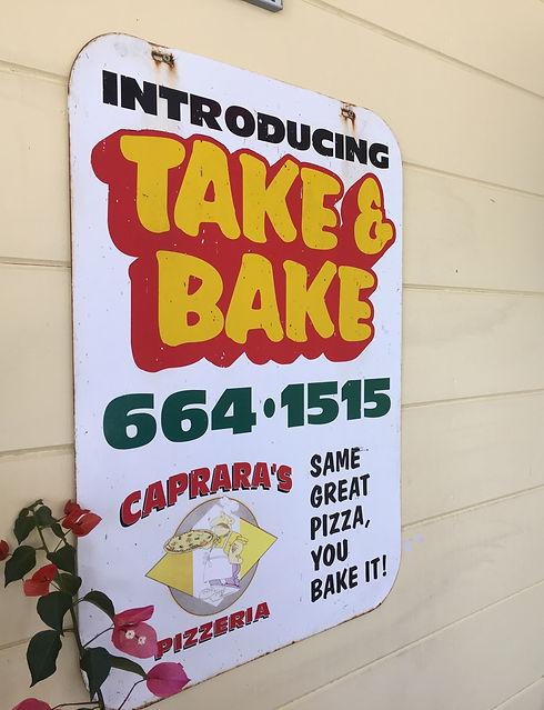 Caprara's Pizzeria Take and Bake