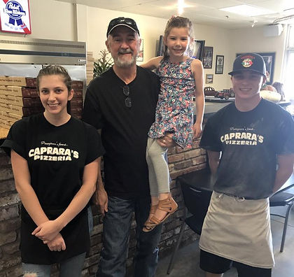 Caprara's Pizzeria Family and Employee