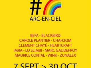 L'exposition collective #arc-en-ciel