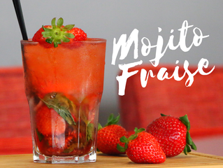 Happy Hour ! Happy Mojito Fraise !