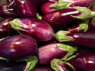 Place à l'aubergine