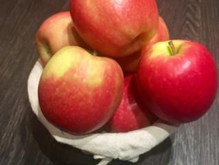 Les pommes bio dans votre assiette!