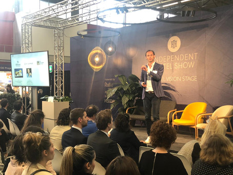 Smart Travel Lab at the Independent Hotel Show 2019