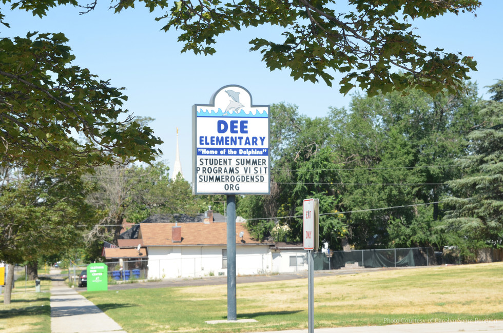 Dee Elementary School Sign