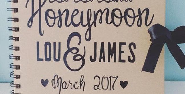 Personalised Honeymoon Journal