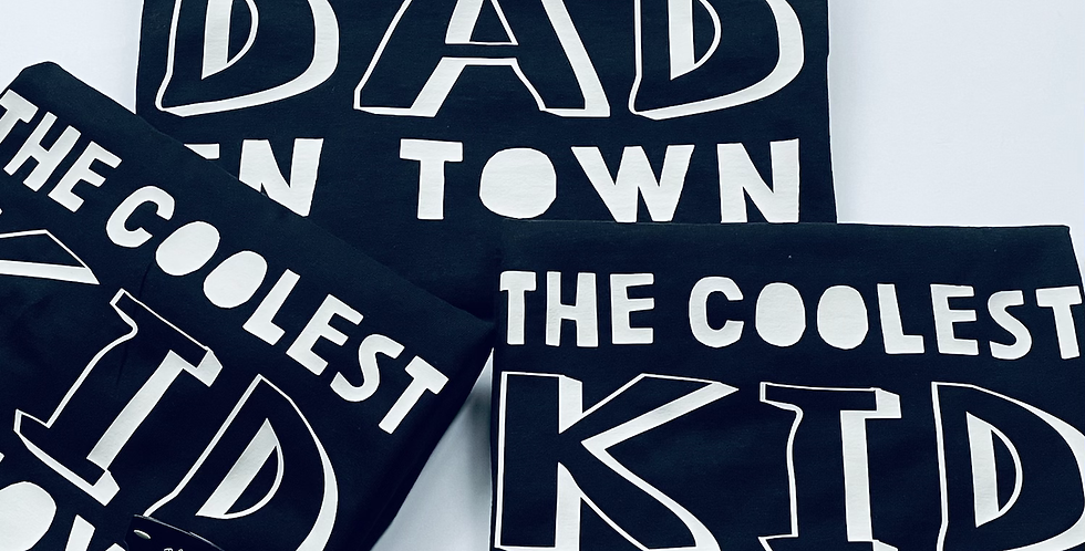 Coolest Dad / Kid In Town T-Shirt