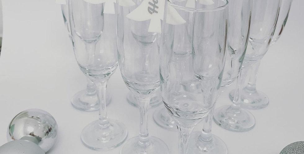 Christmas Tree Glass Charms