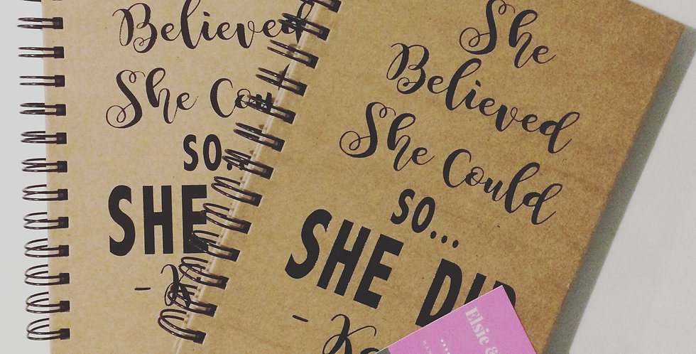 Personalised 'Design Your Own' Notebook