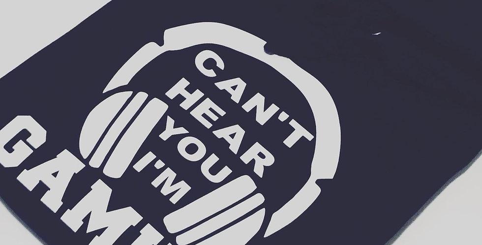 Black Gaming Hoodie / T-Shirt