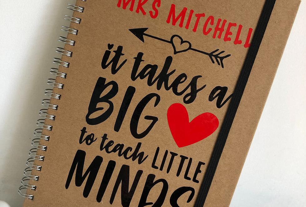 'It Takes A Big Heart' Teacher Notebook