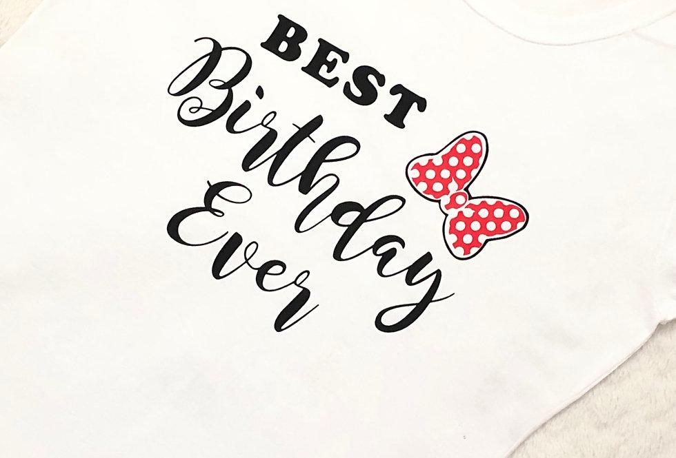 'Best Birthday Ever' Women's T Shirt