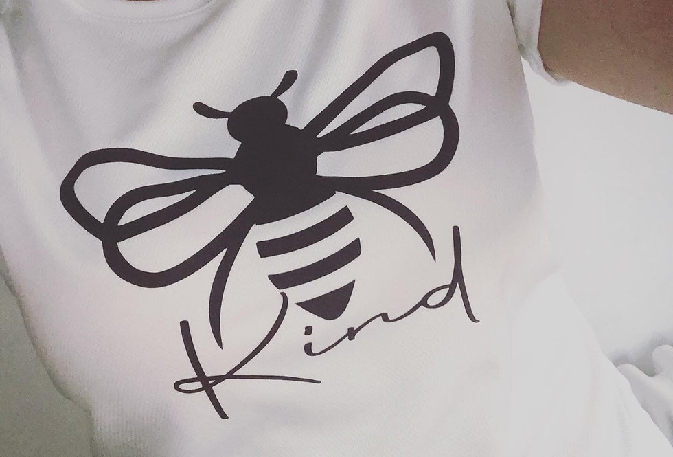 Women's Fit 'Bee Kind' Sports Top