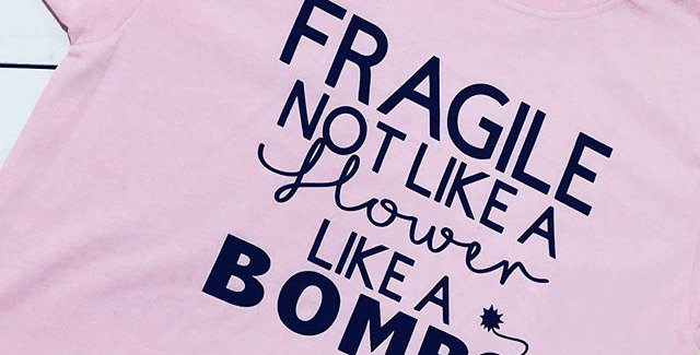 Fragile Like a Bomb T Shirt