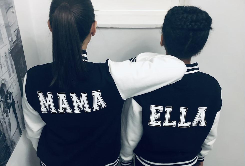 'Mama' Adult Varsity Style Jacket