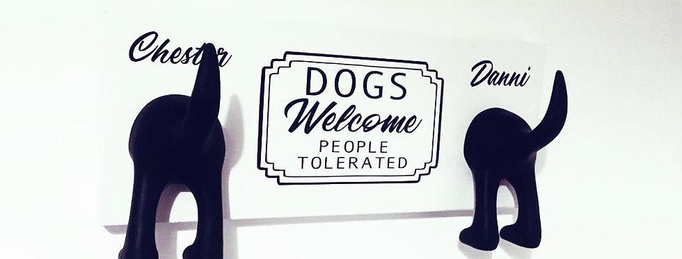 Personalised Dog Lead Holder