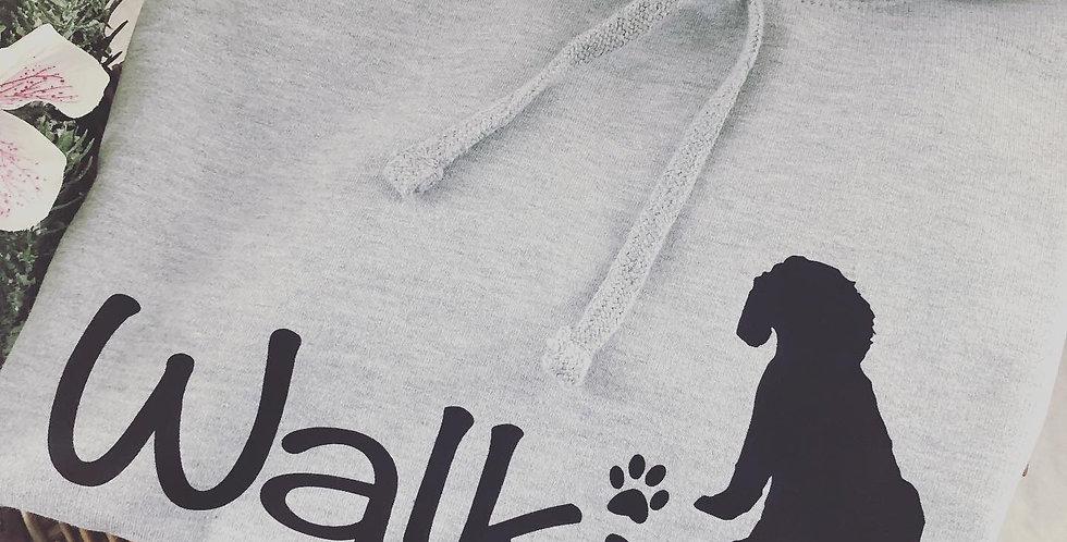 'Walkies' Long Length Hoodie