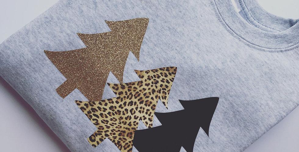 Children's Christmas Tree Trio Sweatshirt