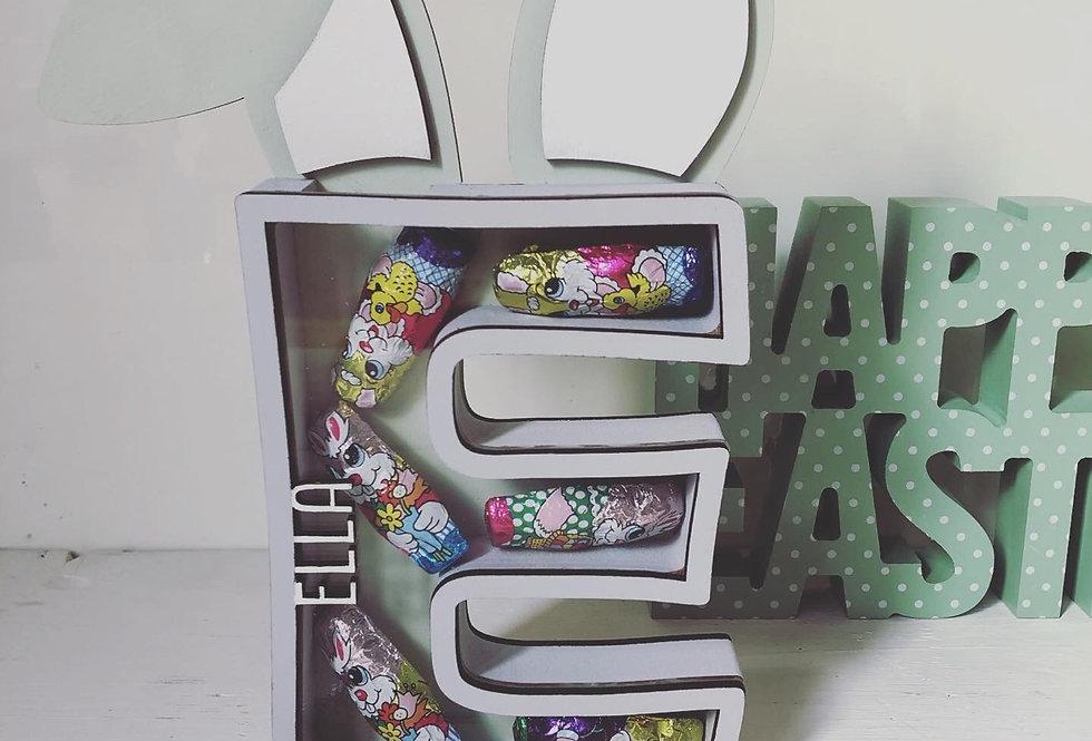 Easter Initial Drop Box