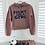 Thumbnail: Fight Like A Girl Cropped Hoodie