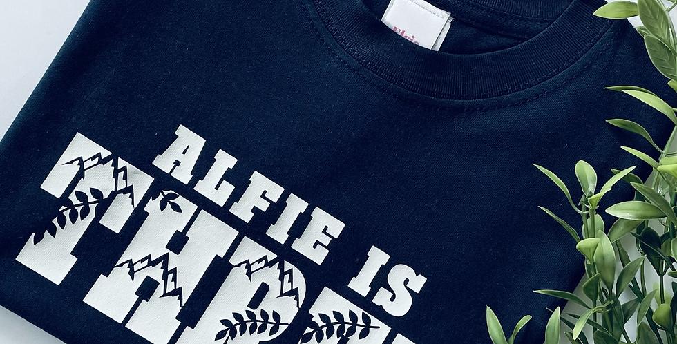 Wild Themed Birthday T-Shirt