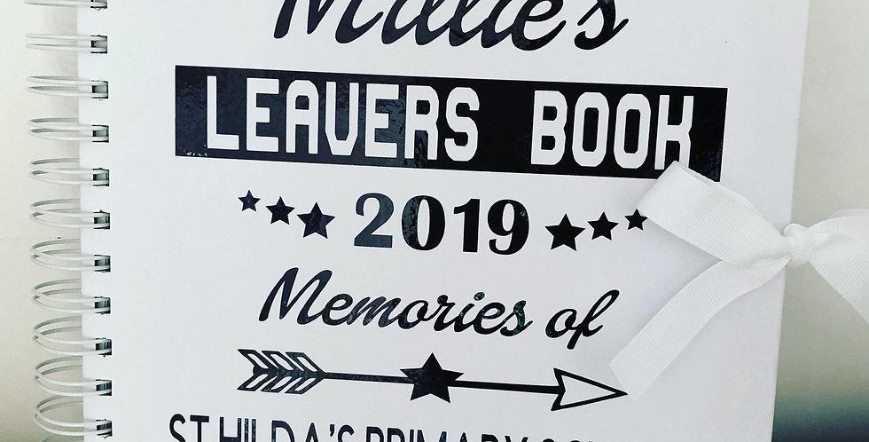 Personalised School Leavers Journal