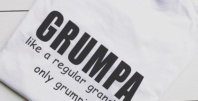 Grumpa Custom T Shirt