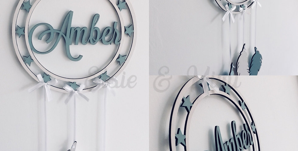Personalised Feather Dream Catcher