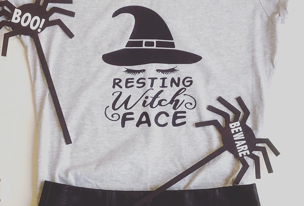 Resting Witch Face Custom T Shirt