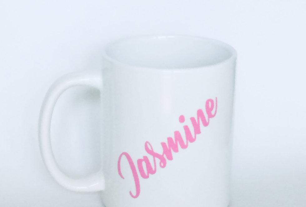 Personalised Full Size Name Mug