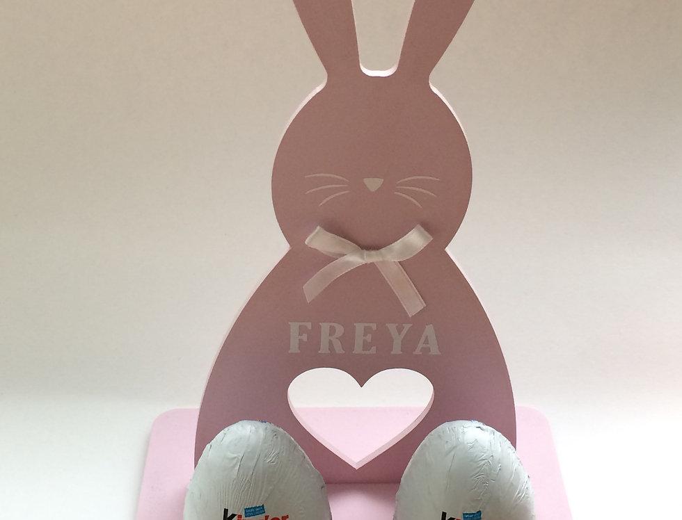 Personalised Bunny Egg Holders