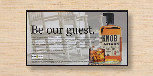 Knob Creek Self Mailer