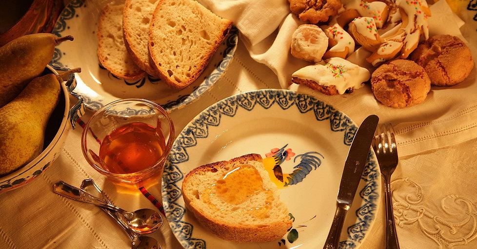 Antica Casa Pasolini - stanza colazione