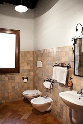 Antica Casa Pasolini - bagno del b&b