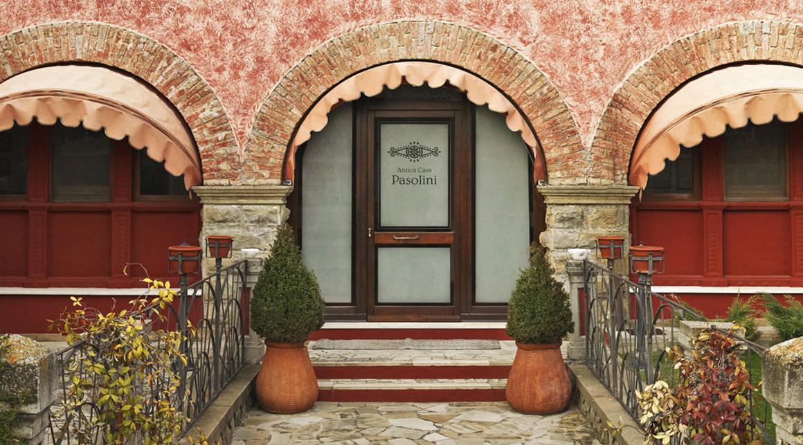 ingresso casa pasolini